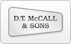 D.T. McCall & Sons logo, bill payment,online banking login,routing number,forgot password