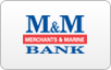 Merchants & Marine Bank logo, bill payment,online banking login,routing number,forgot password