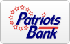 Patriots Bank logo, bill payment,online banking login,routing number,forgot password