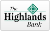The Highlands Bank logo, bill payment,online banking login,routing number,forgot password