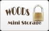 Woods Mini Storage logo, bill payment,online banking login,routing number,forgot password